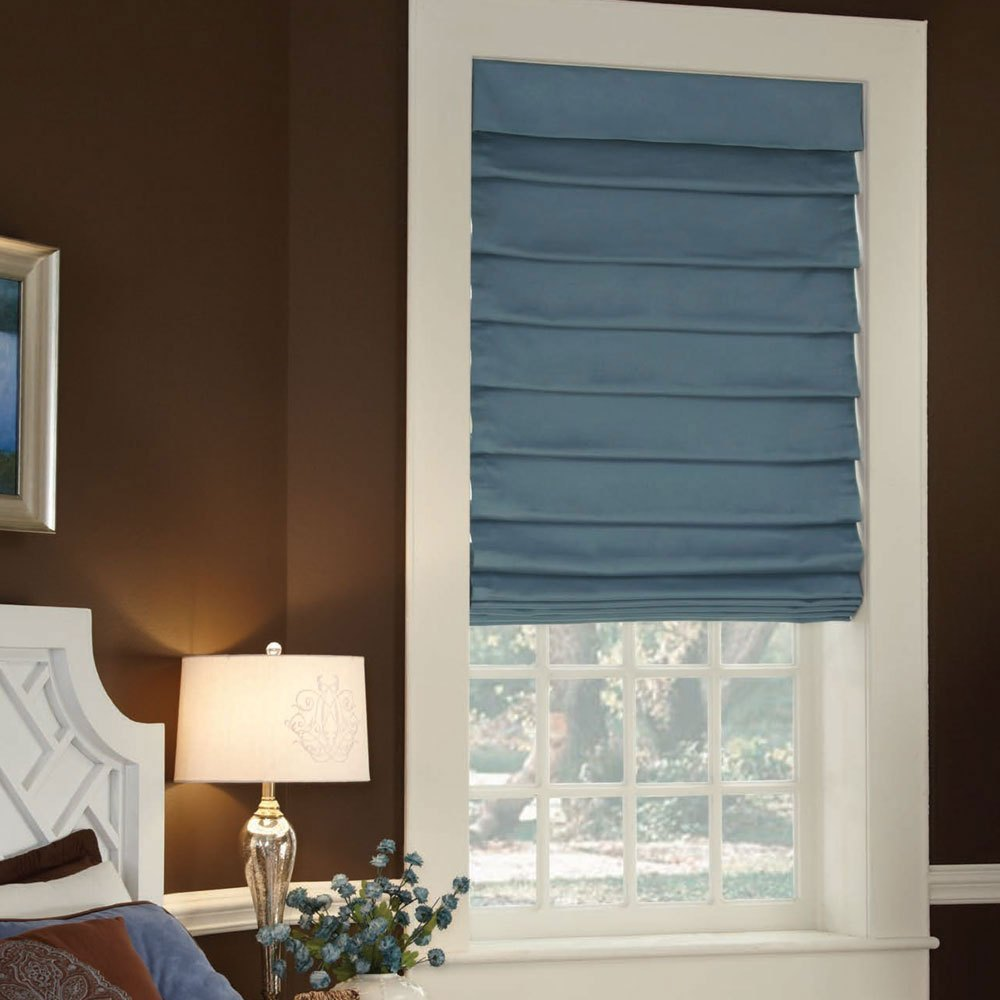 Tidmarsh Exclusive Lutron Roman Shades