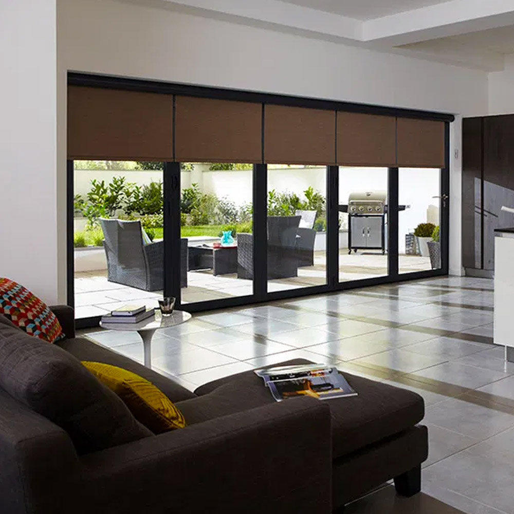 Blinds for Bifold Doors by Tidmarsh Blinds