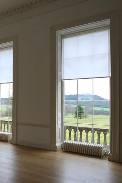 Patent Action Spring Roller Blinds by Tidmarsh
