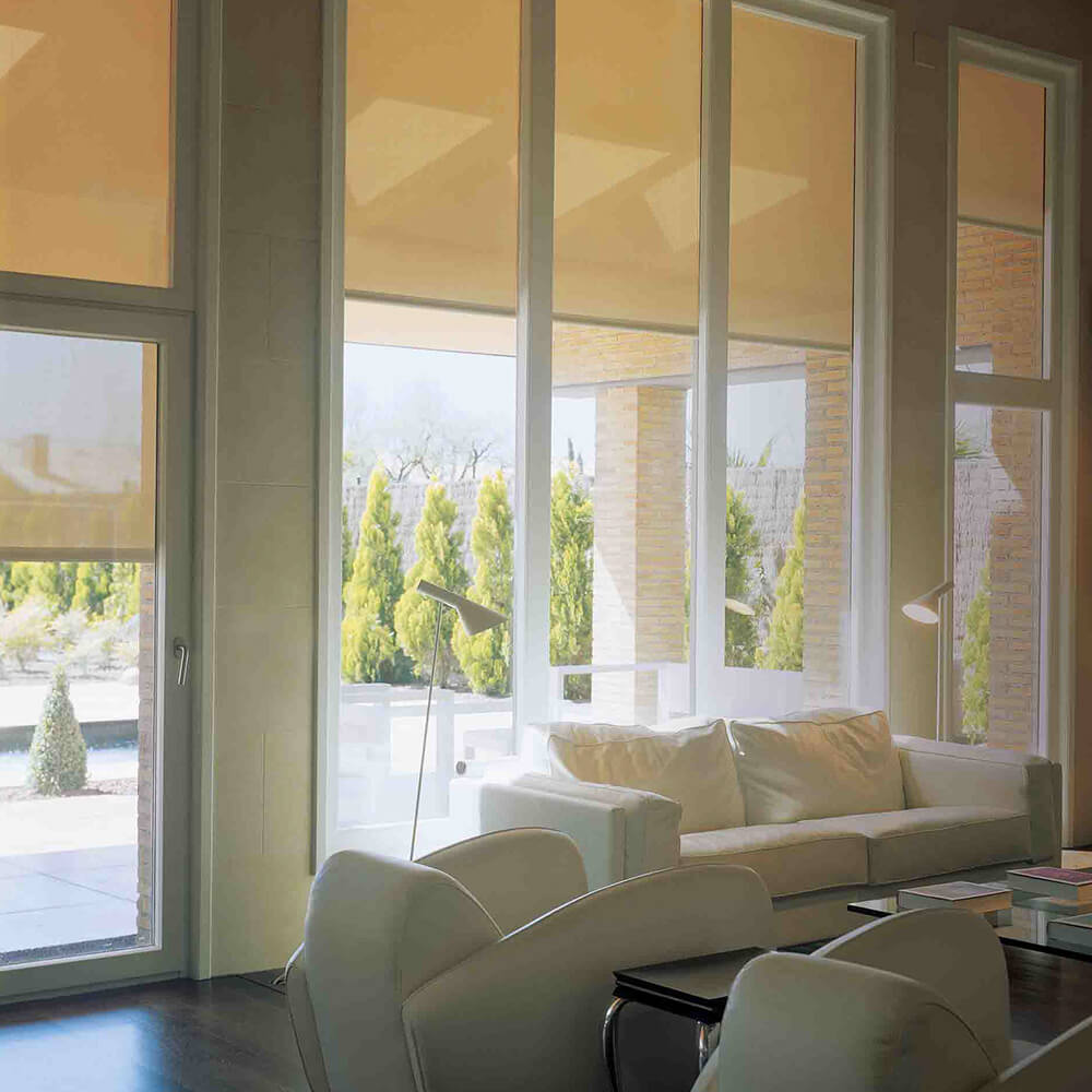 Large Lutron Blinds by Tidmarsh Blinds