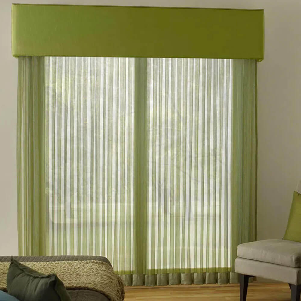 Lutron Kirbé Curtain Tracks by Tidmarsh