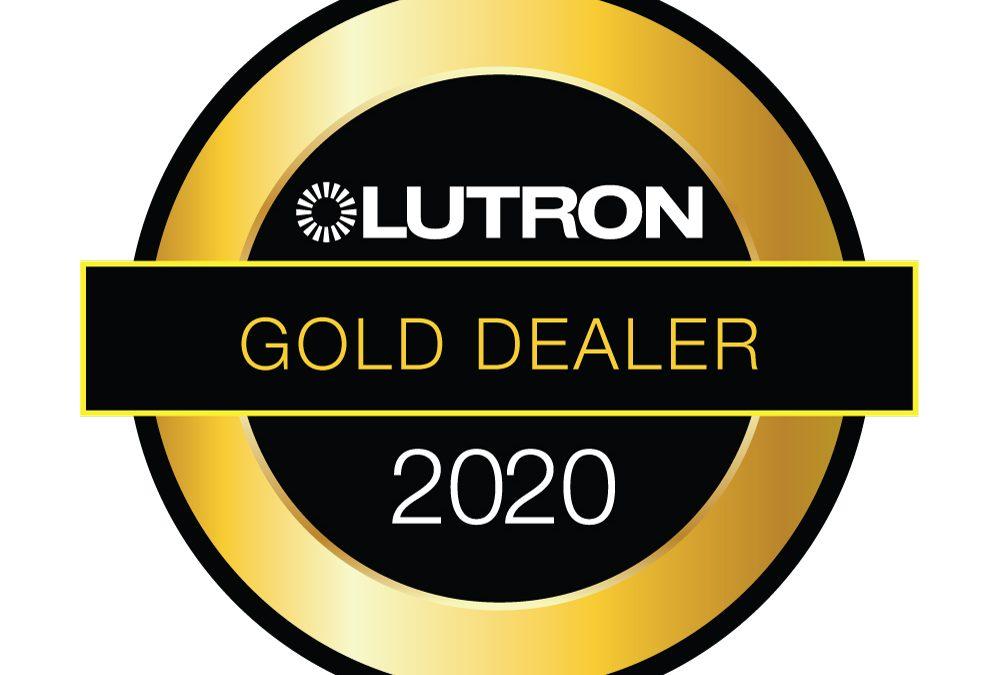 Tidmarsh are a Lutron Gold Dealer