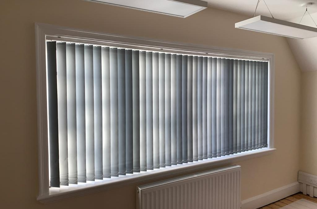Vertical Blinds Installations