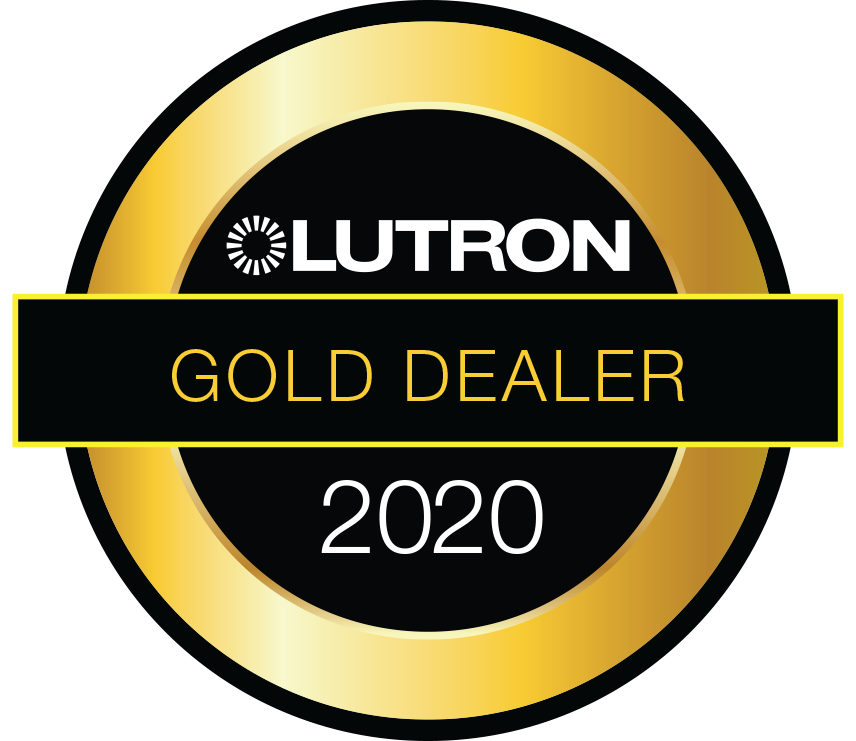 Tidmarsh are proud to be a Lutron 2020 Gold Dealer